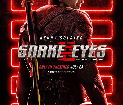 Snake Eyes : G I Joe Origins 2021