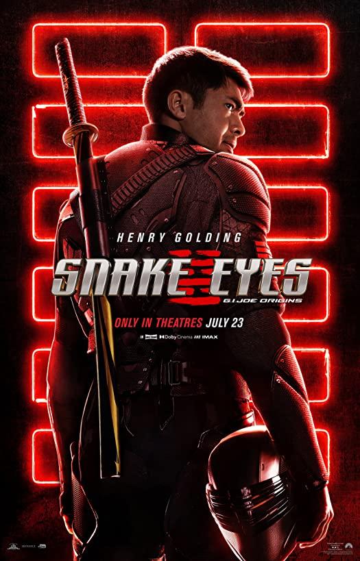 Snake Eyes : G.I. Joe Origins (2021) เผยโฉมตัวอย่างแรกของภาพยนตร์แล้ววันนี้